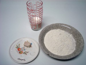 Fotografía de los ingredientes.