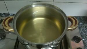 Aceite de girasol a fuego lento. 7 enero 2013